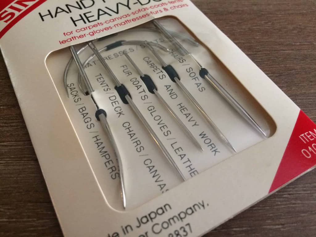 Leather Tool - Hand Sewing Needles