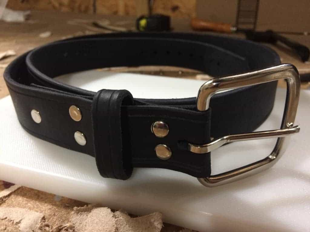 Liberty Leather Goods - Project #1 - A Leather Belt