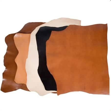 Leathers Dyed Different Colors - How Leather is Made - Liberty Leather Goods