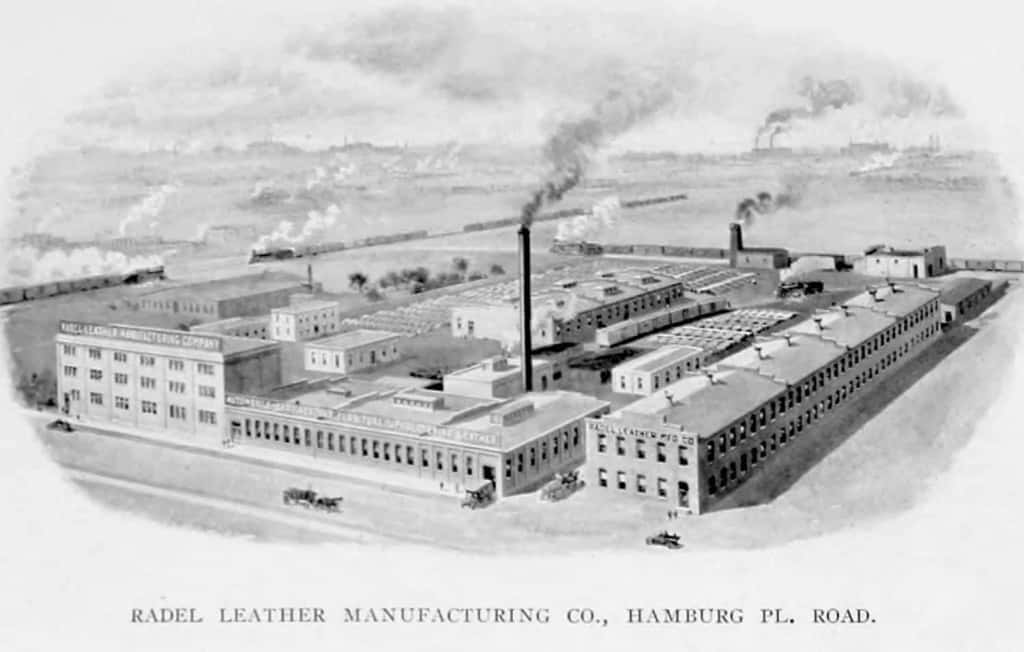 Radel Leather Manufacturing Company in 1912 - Corinthian Leather - Liberty Leather Goods
