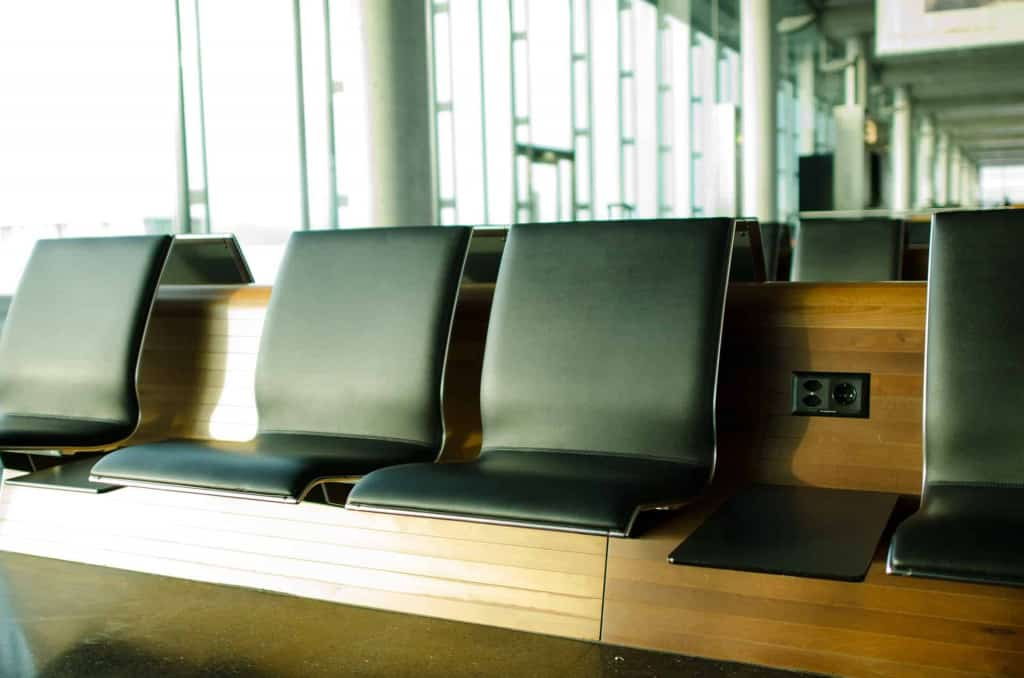 Synthetic Leather Airport Seating - Liberty Leather Goods