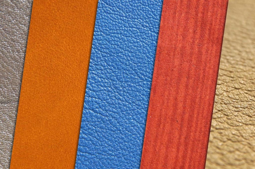 Synthetic Leather Texture Examples - Liberty Leather Goods