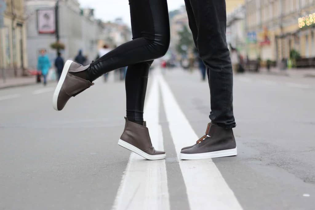 Synthetic Leather Leggings and Shoes - Liberty Leather Goods