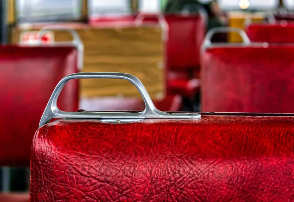 Synthetic Leather Trolly Seating - Liberty Leather Goods