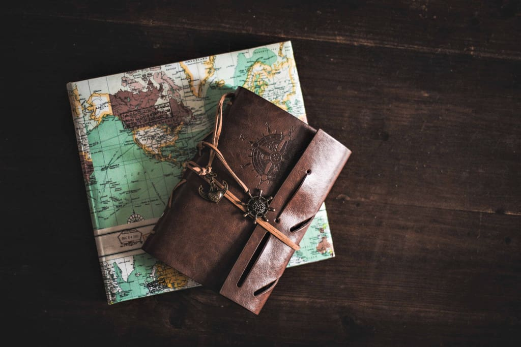 Brown Leather Journal - Liberty Leather Goods
