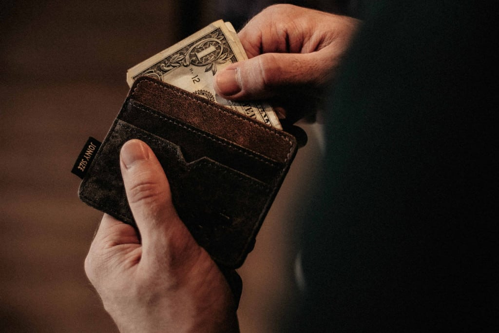 Leather Pocket Wallet - Liberty Leather Goods