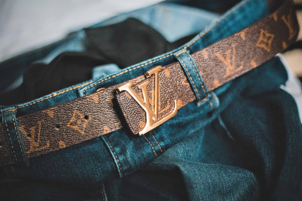 Louis Vuitton Leather Belt - Liberty Leather Goods