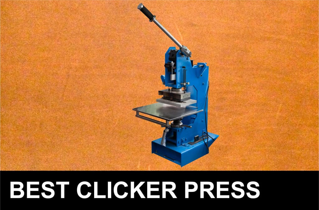 Best Leather Clicker Press - Liberty Leather Goods