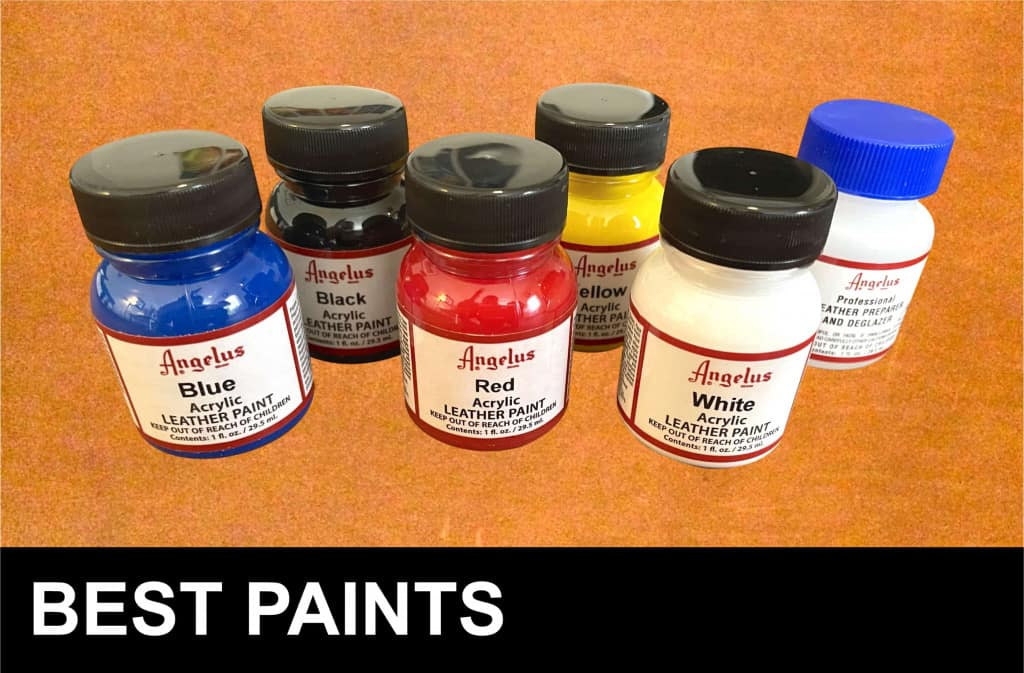 Best Leather Paints - Liberty Leather Goods