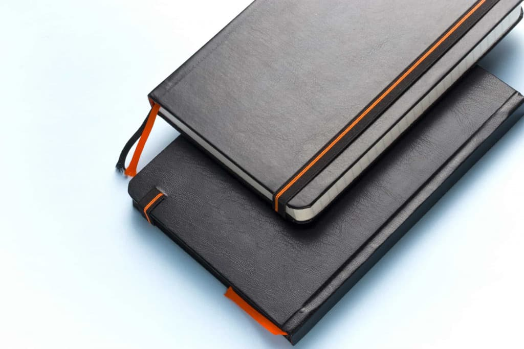 Black Leather Journals - Liberty Leather Goods