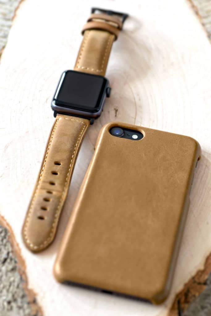 Brown Suede Leather Apple Watch Band - Liberty Leather Goods