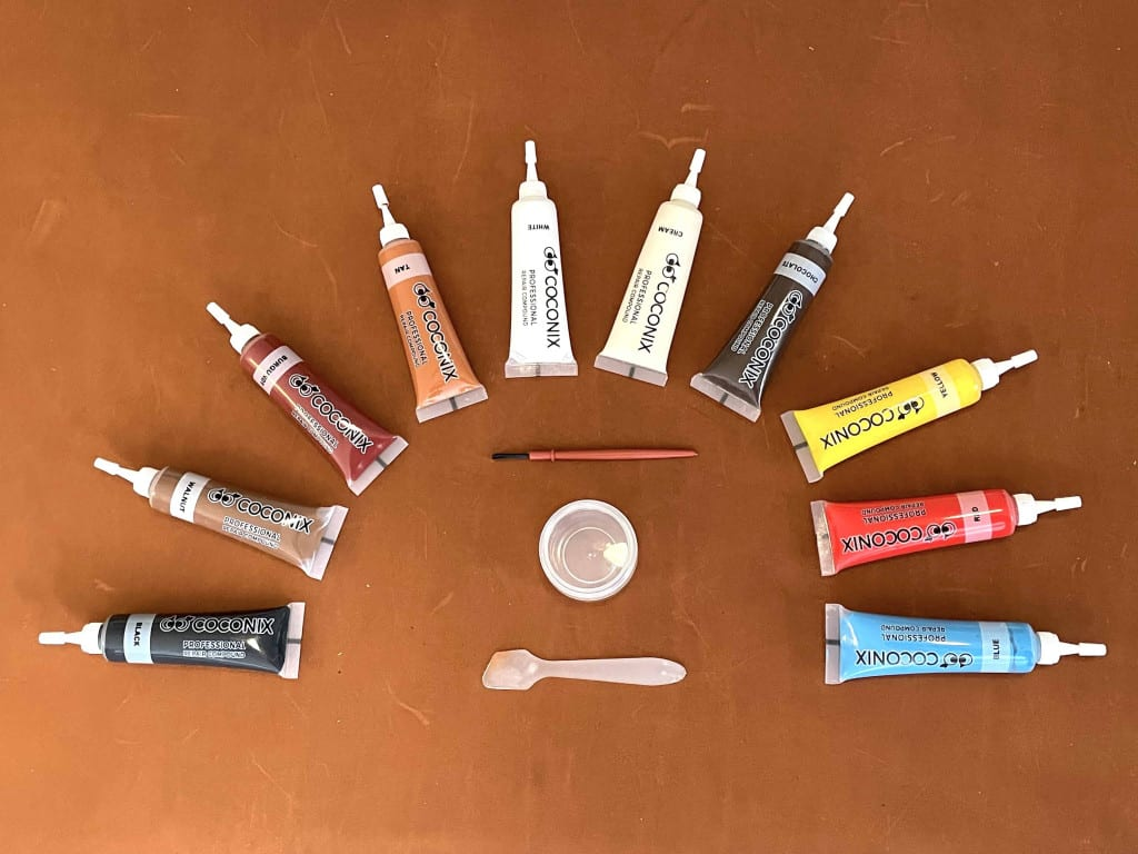 Leather Filler Color Tube Set - Liberty Leather Goods