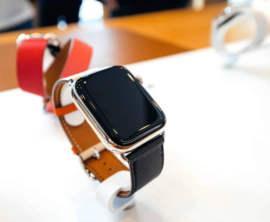 Thin Black Leather Apple Watch Band - Liberty Leather Goods