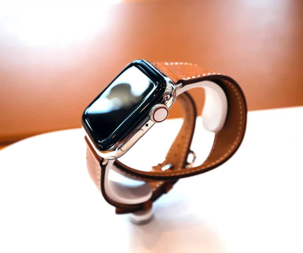 Thin Brown Leather Apple Watch Band - Liberty Leather Goods