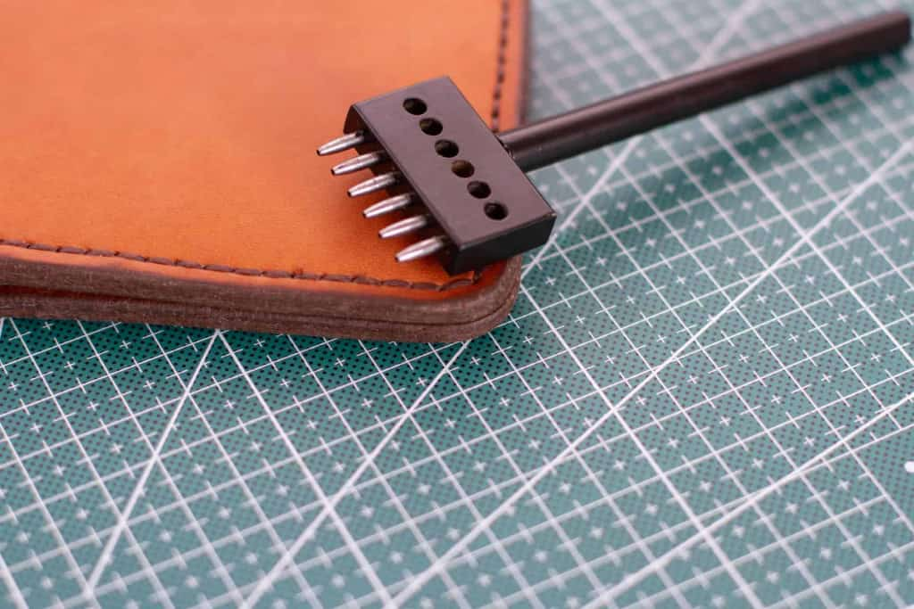 Leather Stitching Punch - Punching Leather - Liberty Leather Goods