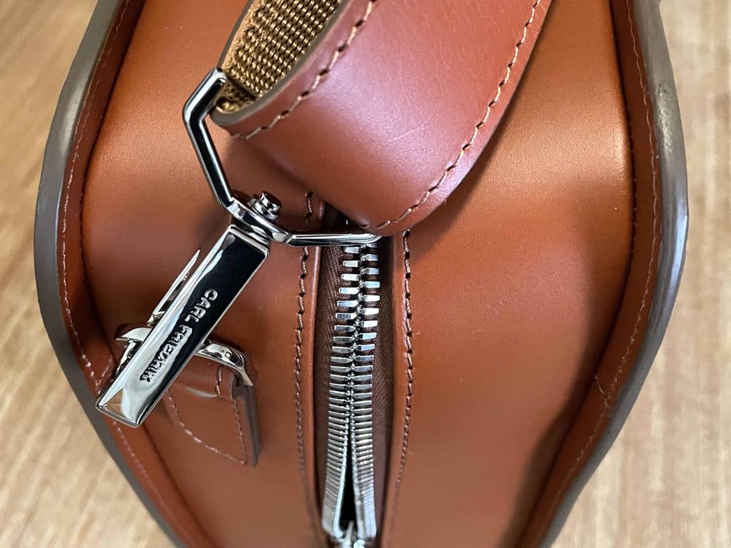 Palissy 25 Hour Large Leather Briefcase by Carl Friedrik Hardware Zippers and Edges - Leather Briefcase - Liberty Leather Goods