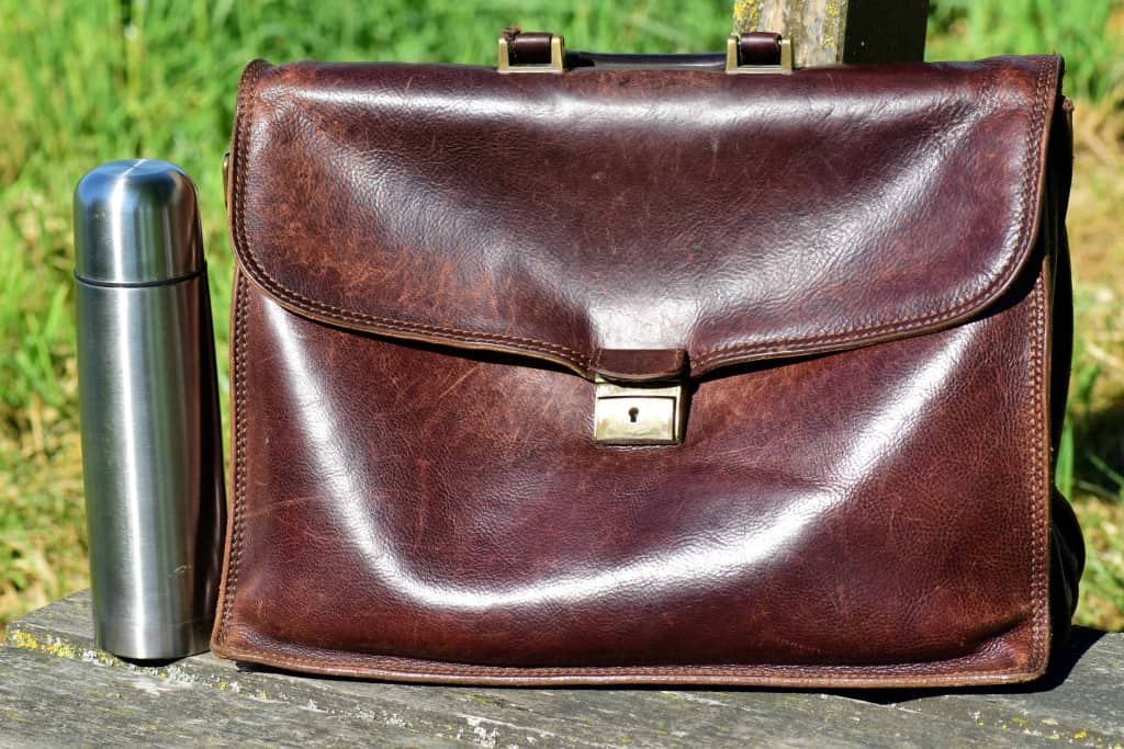 Classic Leather Briefcase - Liberty Leather Goods
