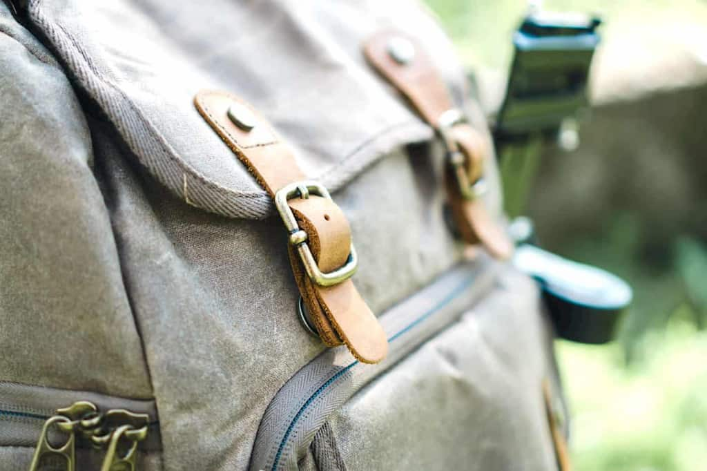 Leather Straps on a Backpack - Leather Straps - Liberty Leather Goods
