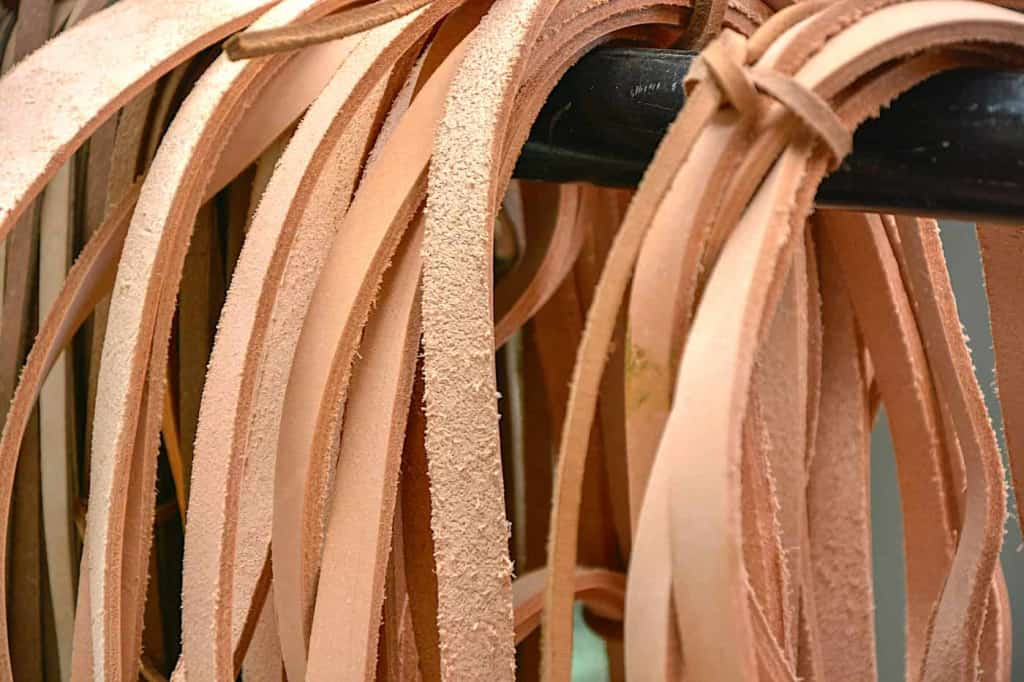 Vegetable Tanned Leather Straps - Leather Straps - Liberty Leather Goods
