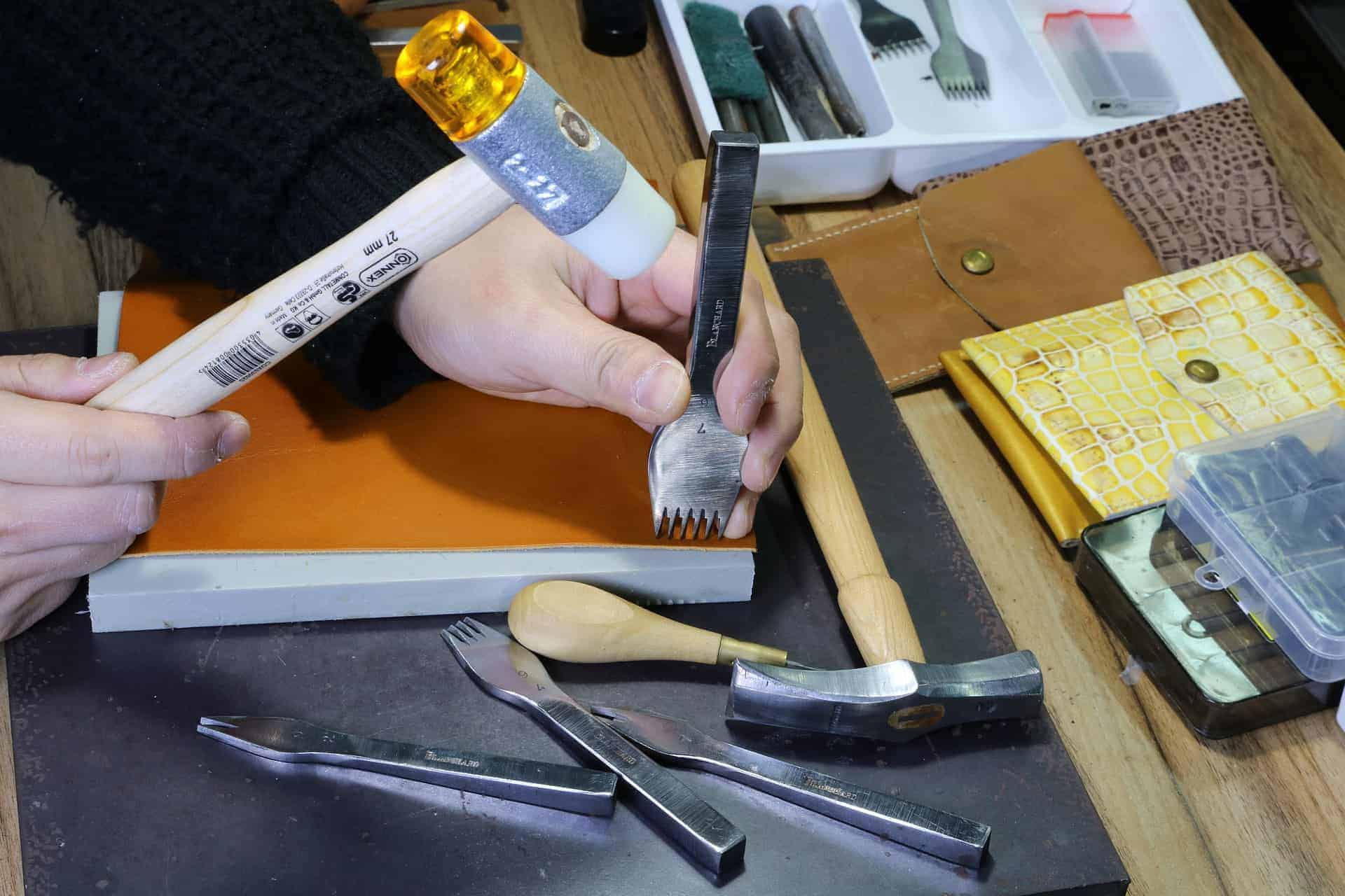 Leather Working Tools and Chiseling - Liberty Leather Goods