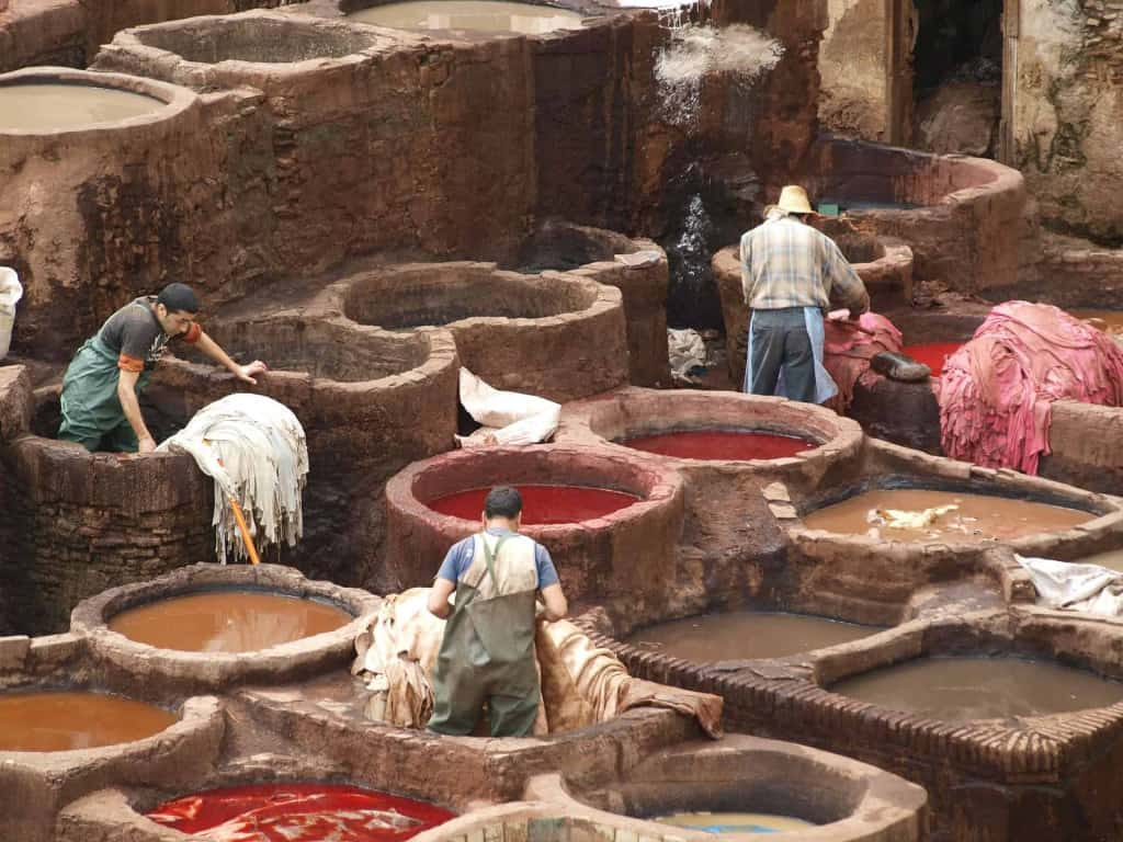 Global Leather Production - Moroccan Tannery