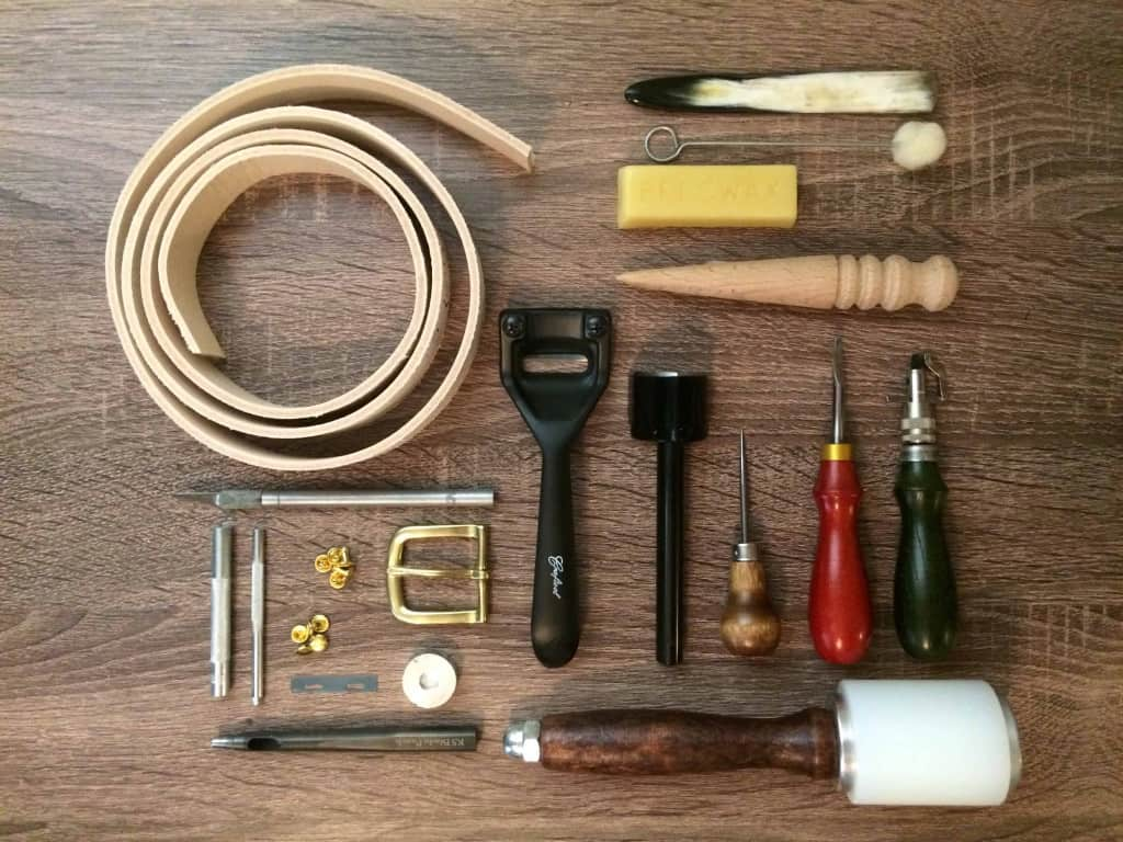 Leather Tool Maintenance - Set of Leather Tools - Liberty Leather Goods