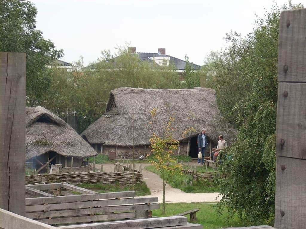 Bronze Age Style House - The History of Leather and Leather Craft - Liberty Leather Goods