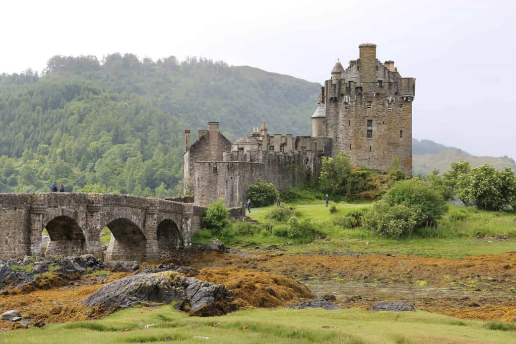 Scottish Castle - The History of Leather and Leather Craft - Liberty Leather Goods