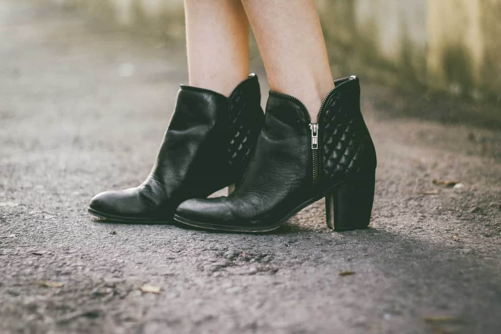 Black Leather Shoes - Vegan Leather - Liberty Leather Goods