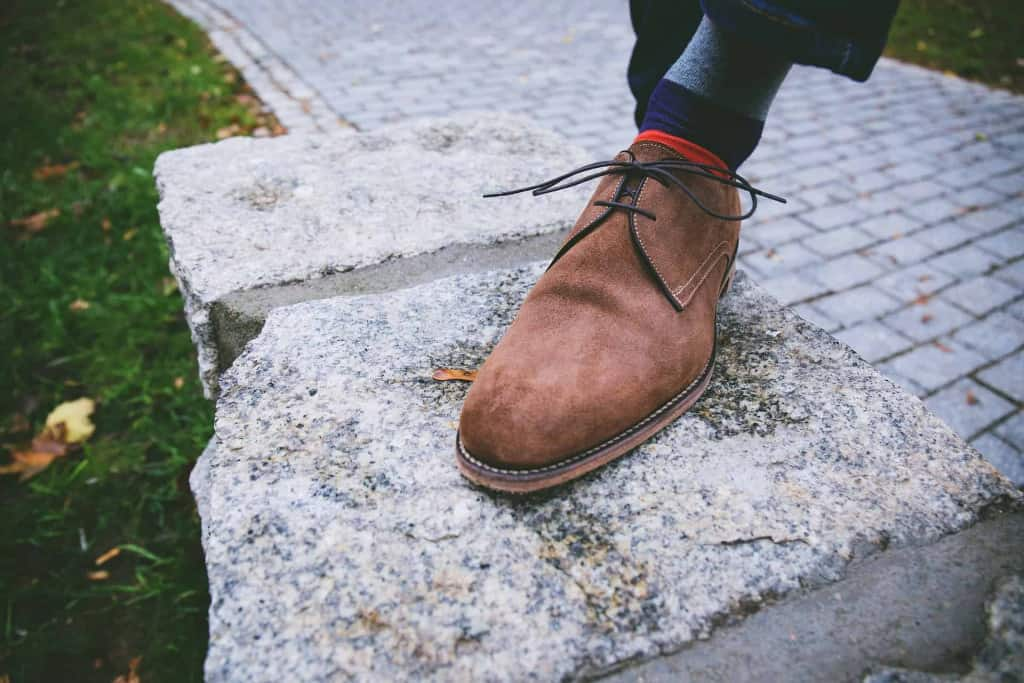 Brown Suede Leather Shoe - Liberty Leather Goods