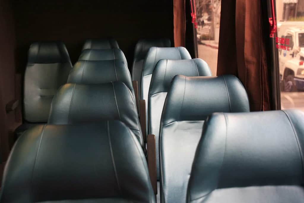 Leatherette Bus Seats - Liberty Leather Goods