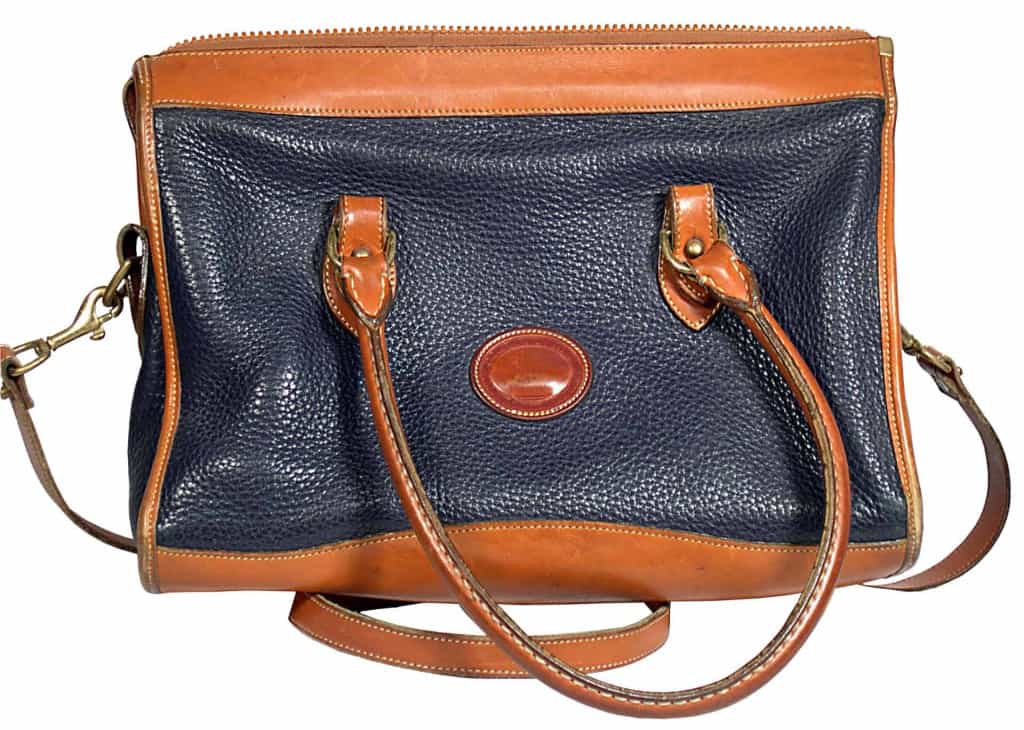 Large Handbag - Pebbled Leather - Liberty Leather Goods