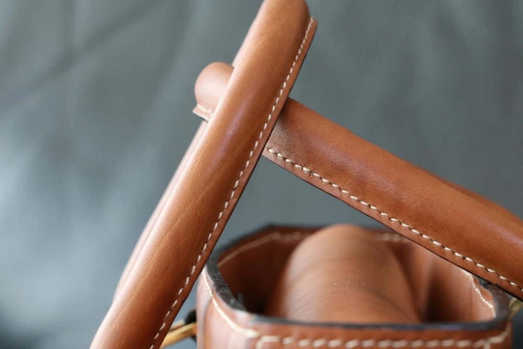 Leather Handbag Handles - Vachetta Leather - Liberty Leather Goods