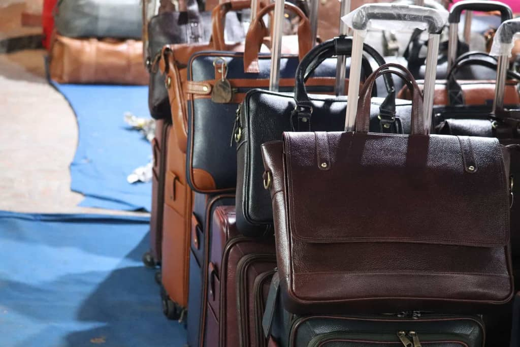 Leather Luggage - Vegan Leather - Liberty Leather Goods