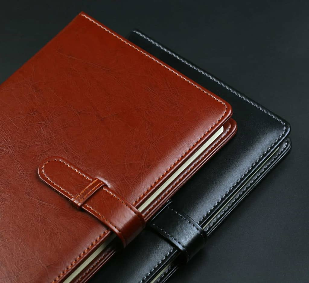 Leather Notebook Covers - Vegan Leather - Liberty Leather Goods
