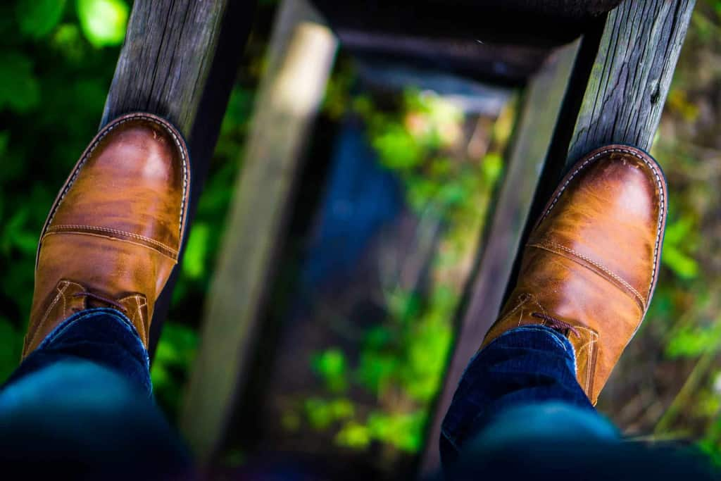 Leather Shoes Outdoors - Eco Leather - Liberty Leather Goods