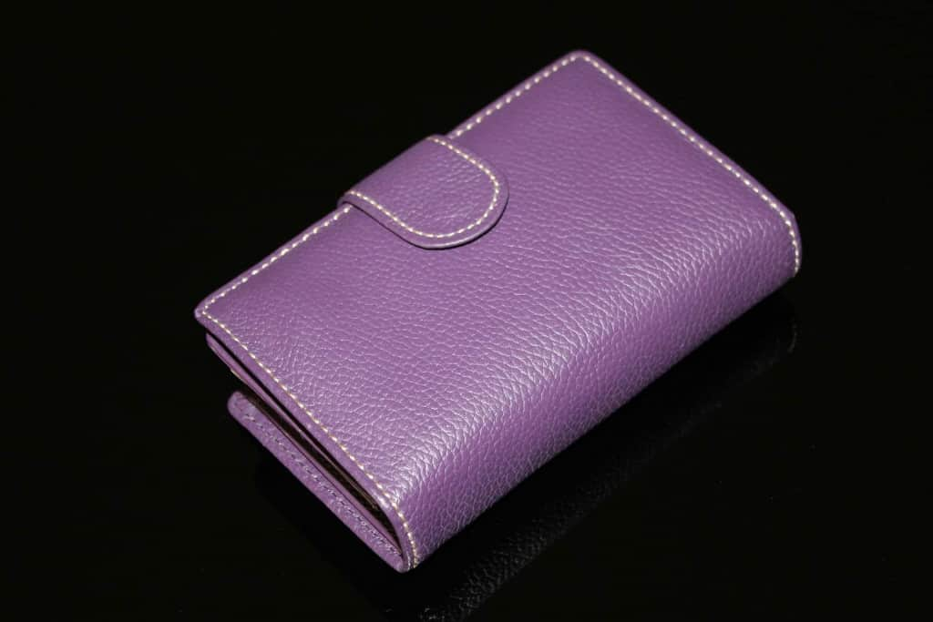 Leather Wallet - Pebbled Leather - Liberty Leather Goods