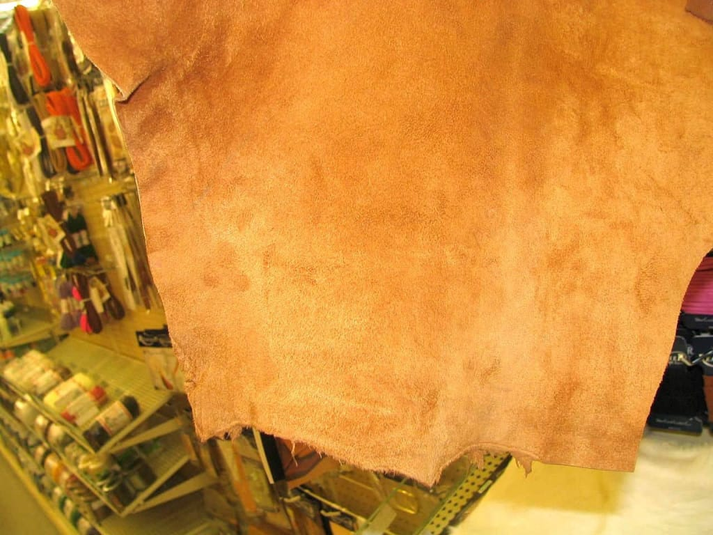 Leather in Store - Leather Buying Guide - Liberty Leather Goods