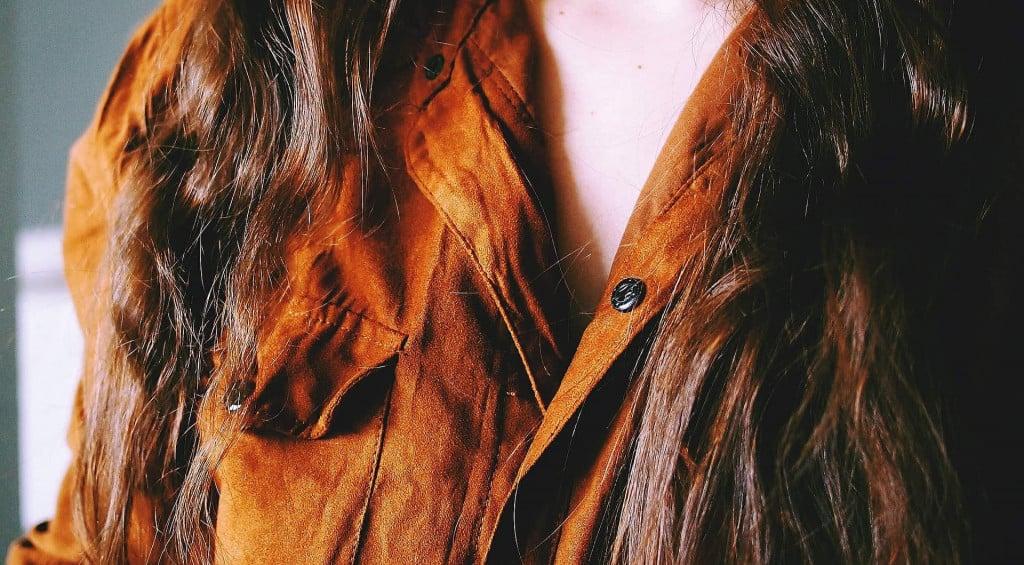 Nubuck Leather Blouse - Liberty Leather Goods