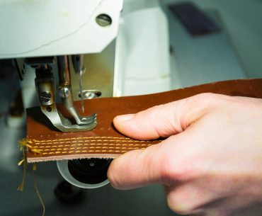 Sewing with a Leather Sewing Machine - Liberty Leather Goods