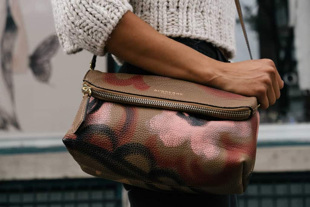 Styled Purse - Pebbled Leather - Liberty Leather Goods