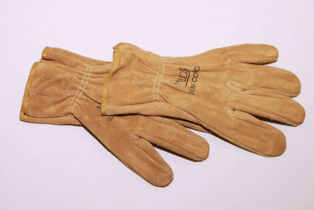 Suede Leather Work Gloves - Liberty Leather Goods