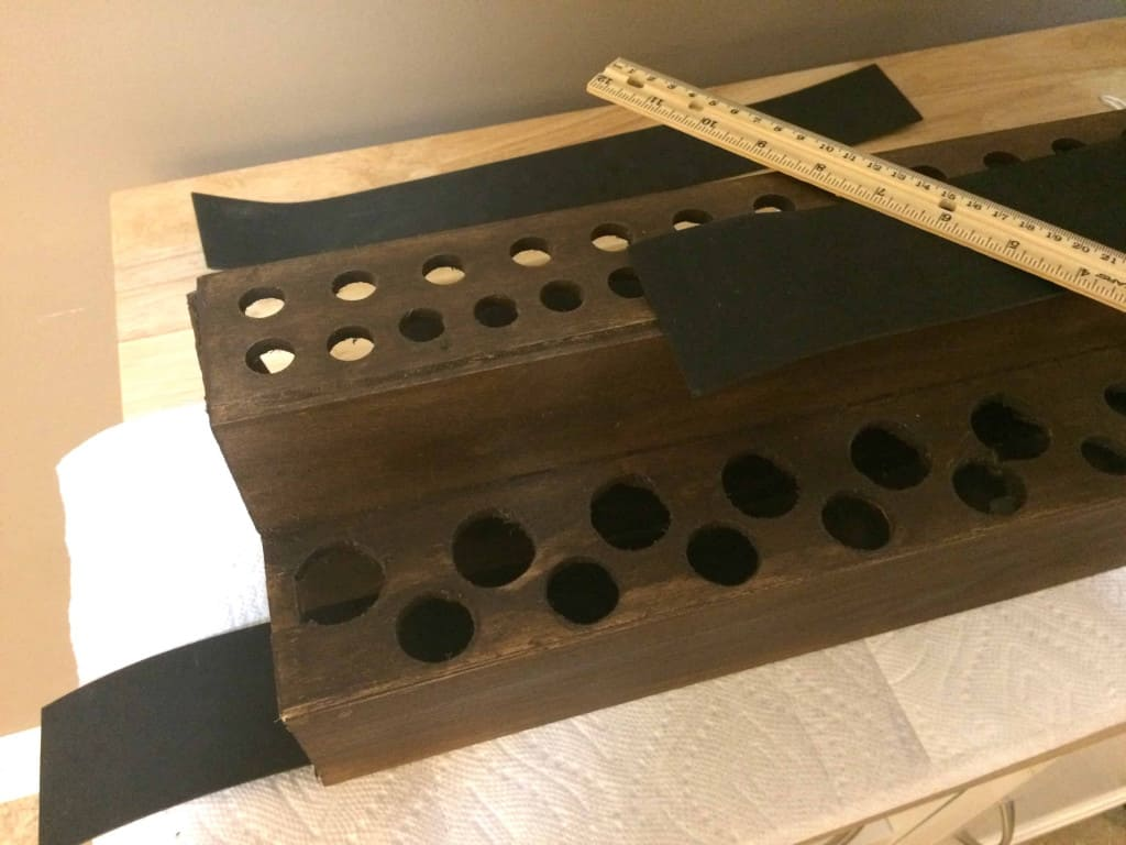Leather Tool Holder - Measuring for the Foam Liners - Liberty Leather Goods