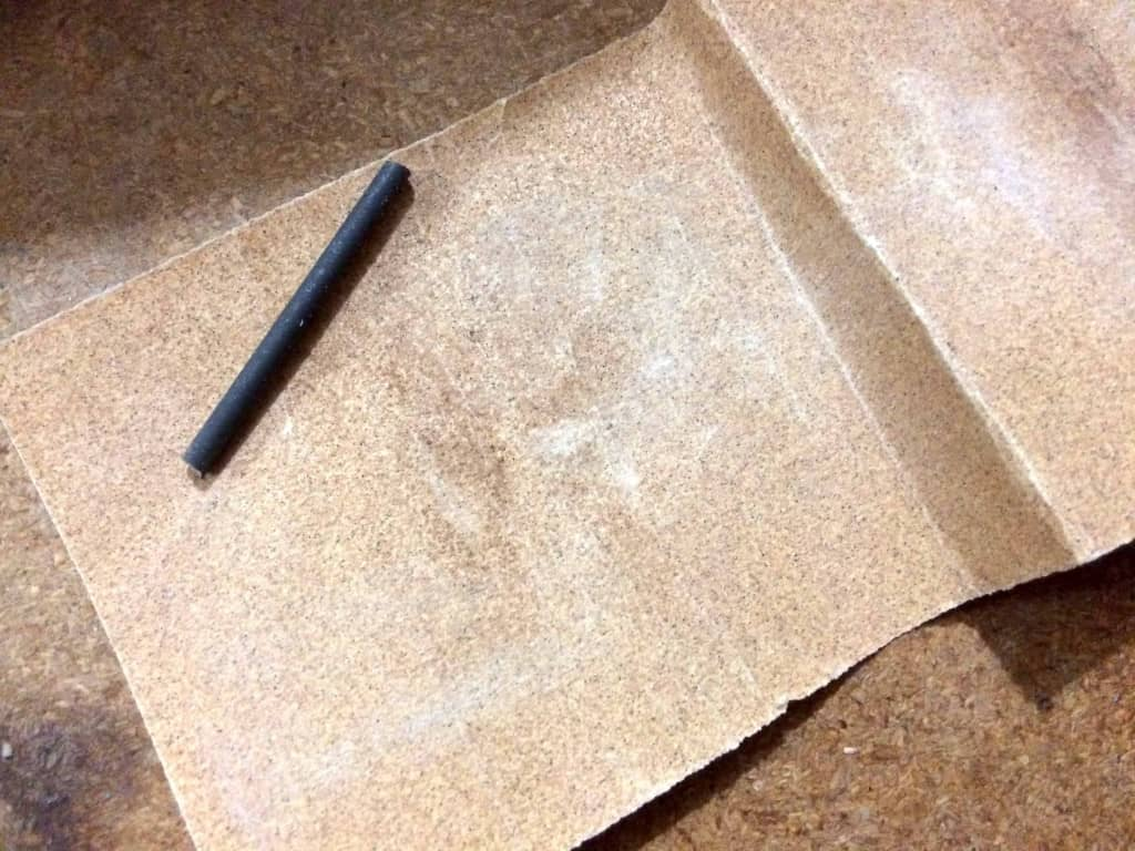 Metal Post for a Leather Burnishing Bit - Liberty Leather Goods