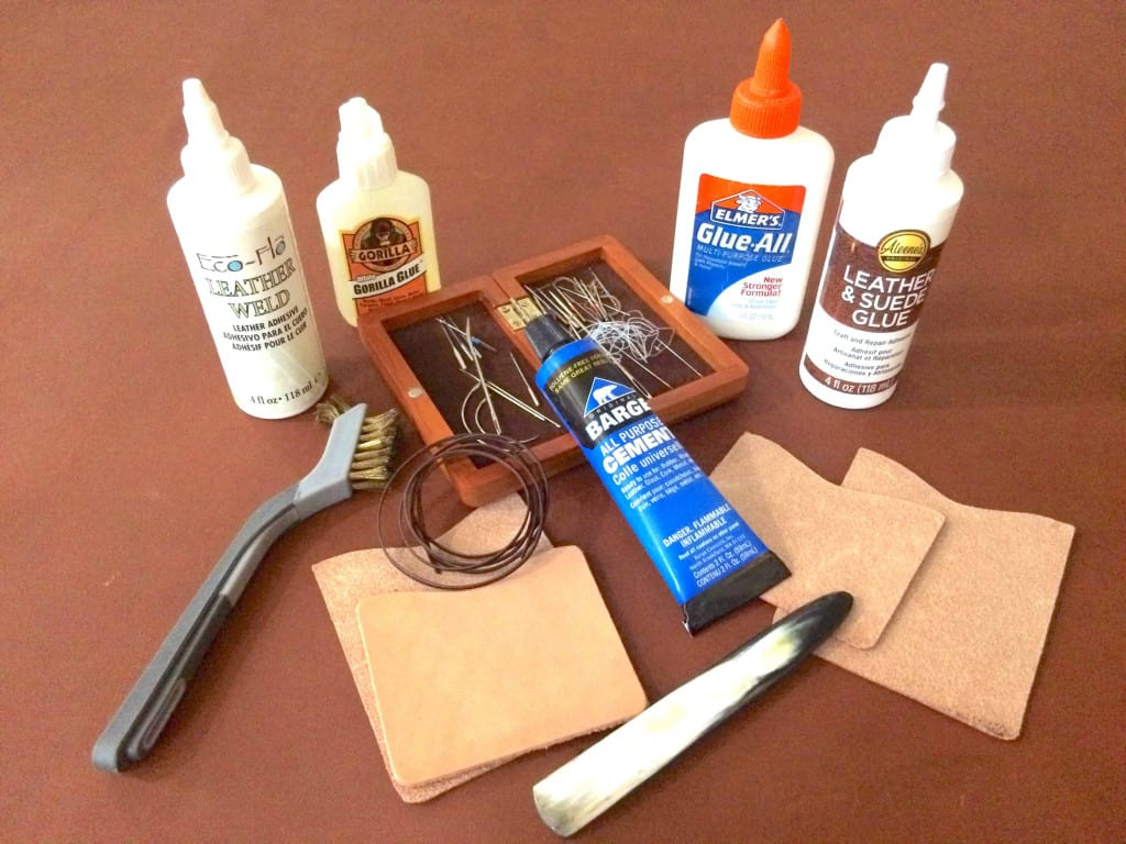 Leather Adhesives Glues and Tools - How to Glue Leather - Liberty Leather Goods