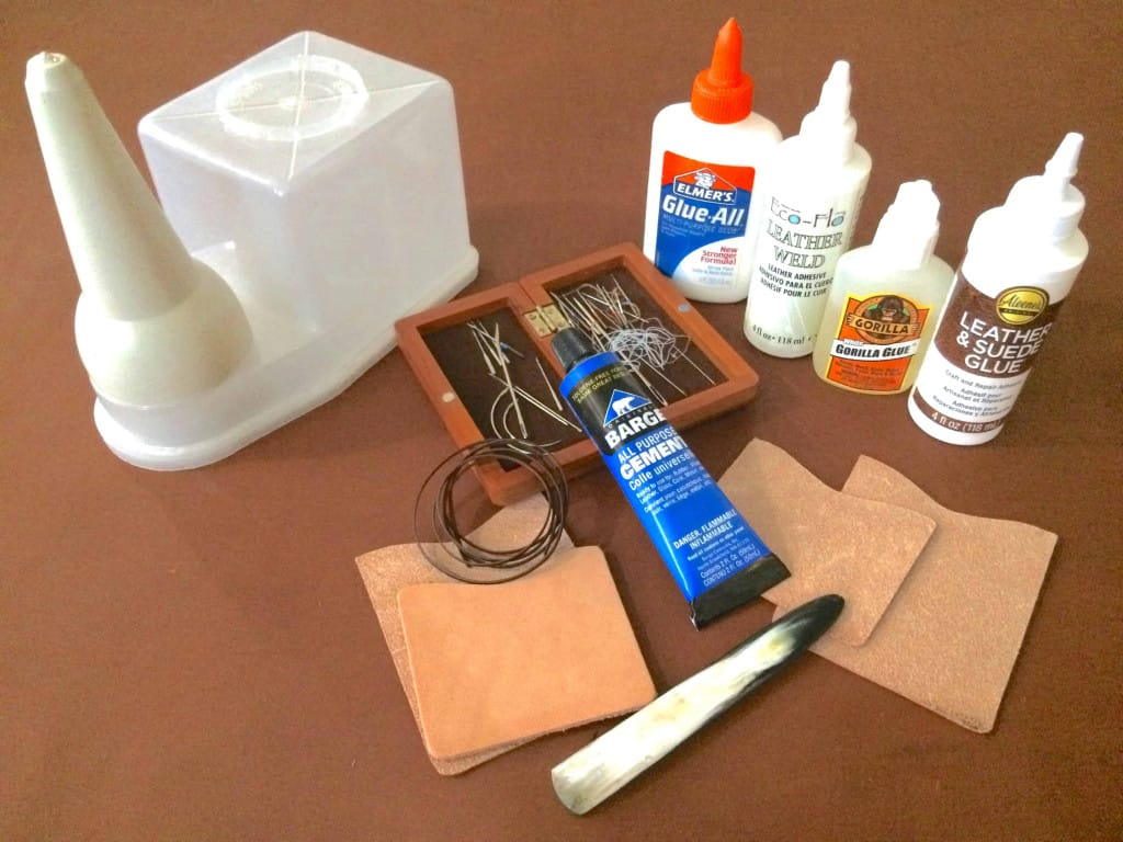 Leather Glues Adhesives and Tools - Leather Glue - Liberty Leather Goods