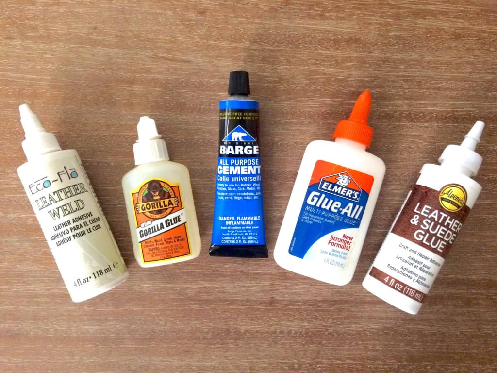 Leather Glues and Adhesives - How to Glue Leather - Liberty Leather Goods