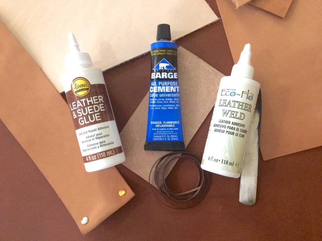 Popular Leather Glue Adhesives - Liberty Leather Goods