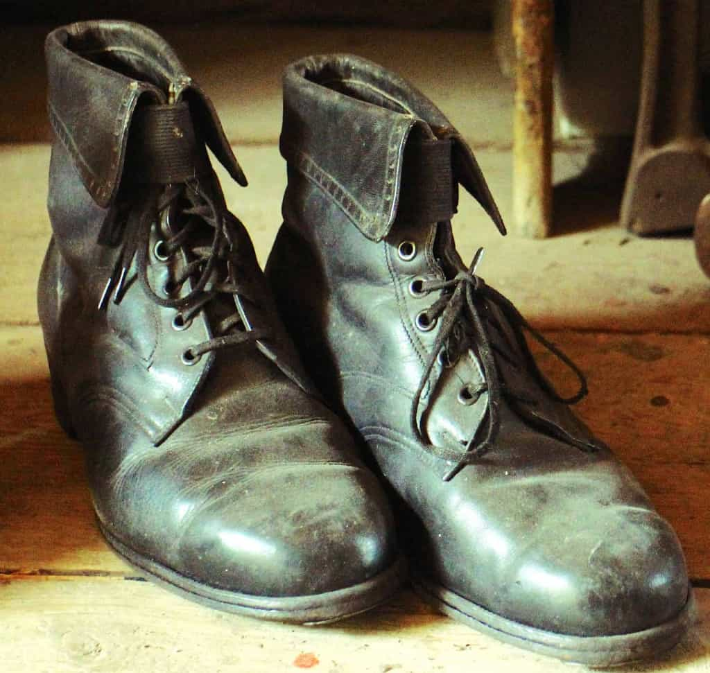 Worn Leather Shoes - How to Clean Leather - Liberty Leather Goods