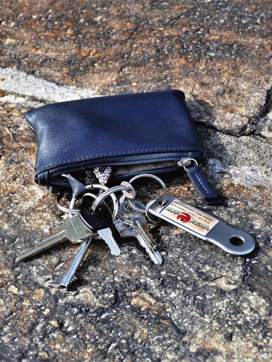 Leather Key Case - Leather Keychain - Liberty Leather Goods